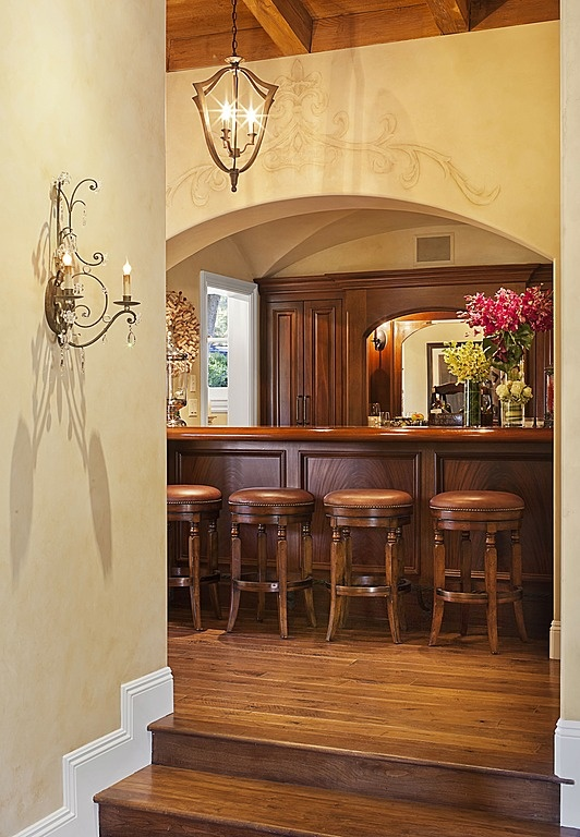 Front bar area to our wine room