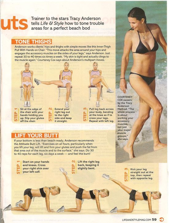 Tracy Anderson Bikini Body Workout Moves