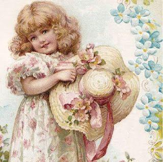 sweet Victorian girl :)