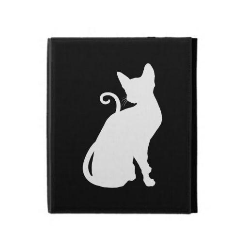 Cute Cat iPad Folio Cases