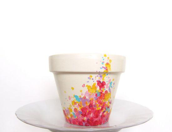 Colorful Planter Pot