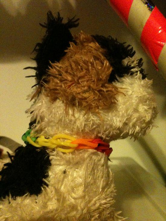 Stuffed animal collar