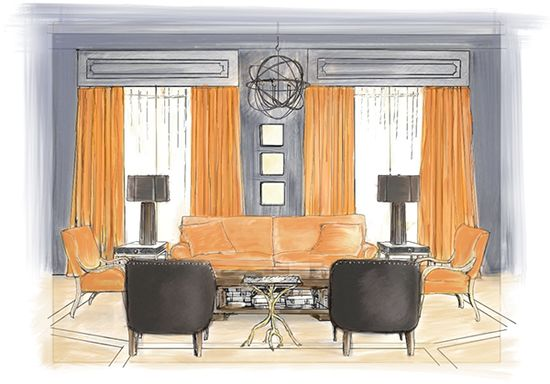 Living Room Design Ideas with Susanna Salk: Geoffrey De Sousa