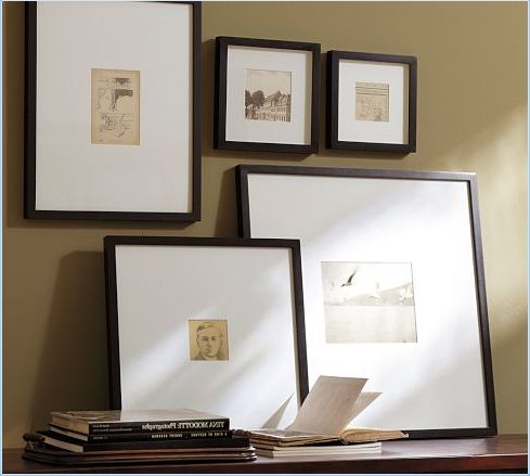 Emily Henderson — Stylist - BLOG - Best Ready-Made Picture Frames and how to frame them