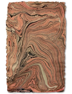 Frame as art - Handmade Marble Sheet, Pink & Grey $7