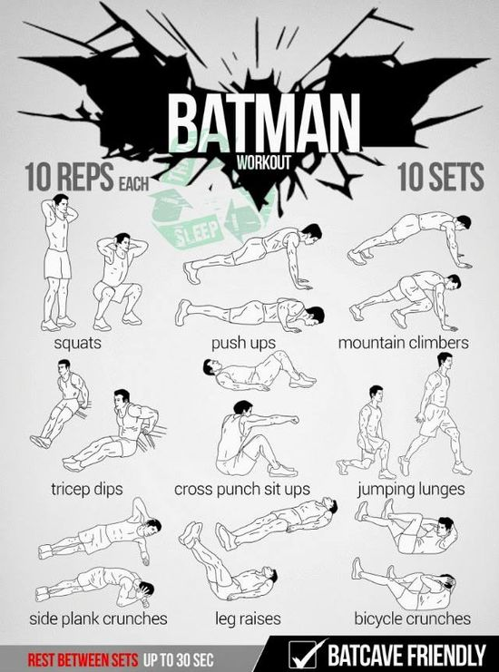 Batman Workout!
