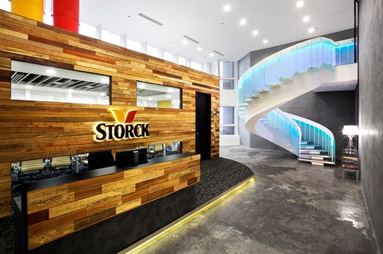 Storck Asia Pacific office by Sennex, Singapore
