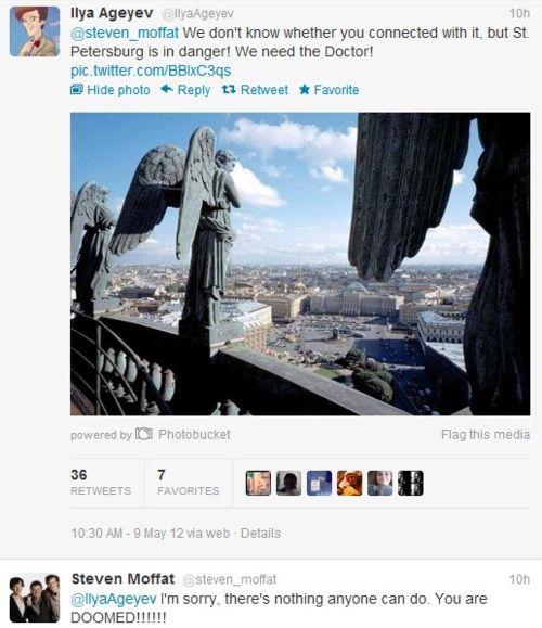haha moffat comented!