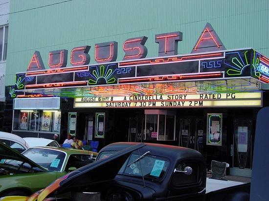 Augusta Ks Movie Theatre by gtotiger68, via Flickr