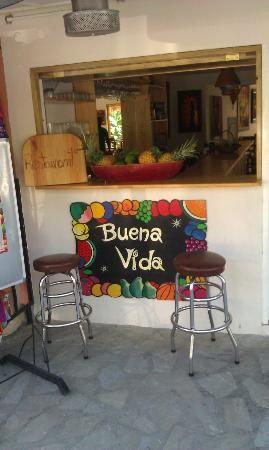 Cabarete, DR Restaurant called Buena Vida