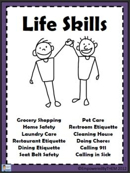 14 pages of Life Skills!
