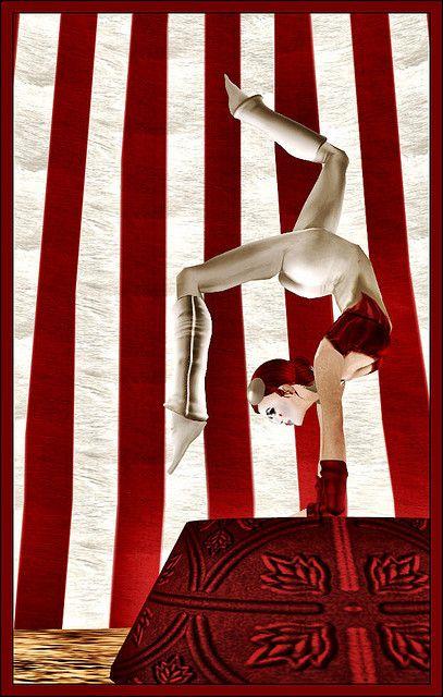 Circus stripes.