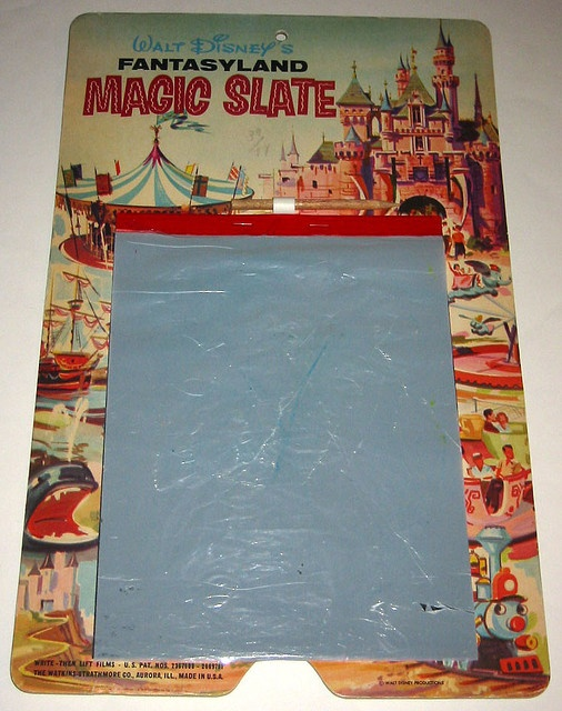 "There was a ""Magic Slate"" for every cartoon character/TV show."