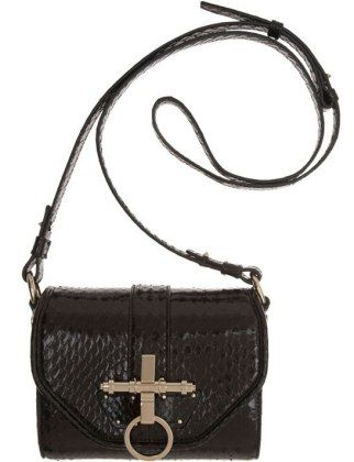 Givenchy snakeskin obsedia whips small bag