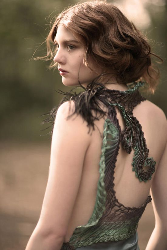 Holly for Natalie J Watts' latest work in Vecu spring collection