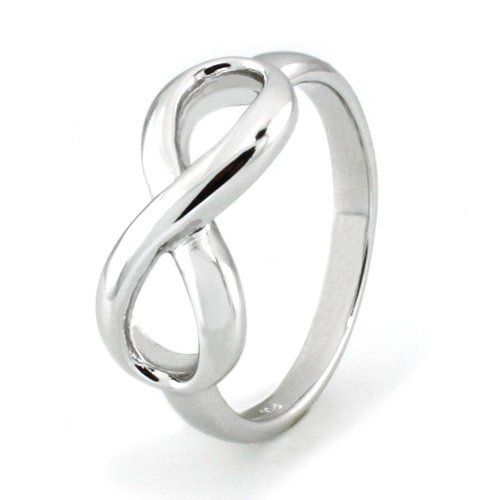Sterling Silver Infinity Ring -  $25.00