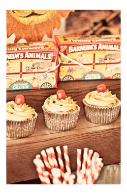 Vintage Circus Carnival Birthday Party Printables