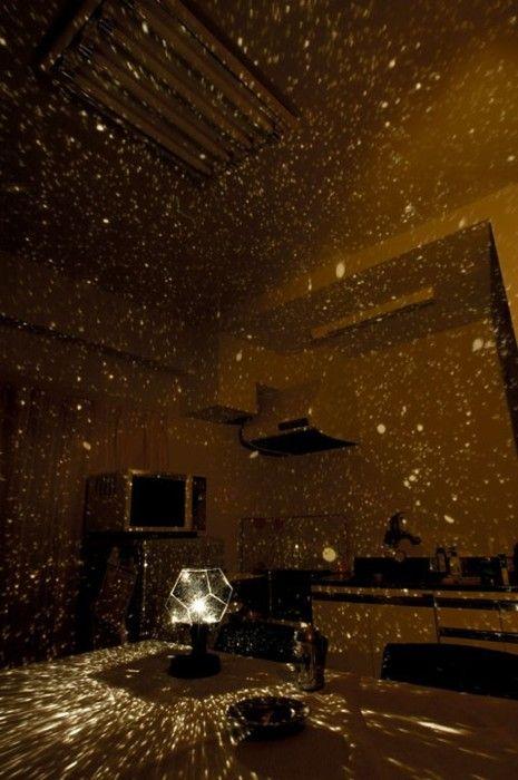 Star projector. Fantastic.