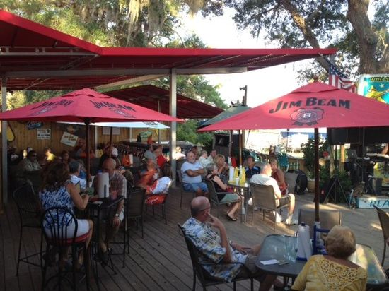 Patio's- Great view, great atmosphere, great food!