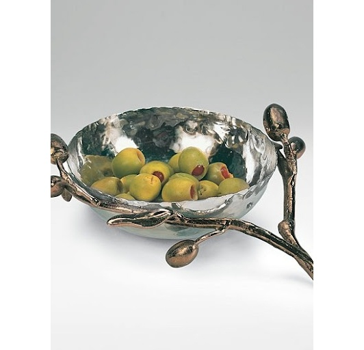 Olive Branch Nut Dish - Home and Garden Design Ideas