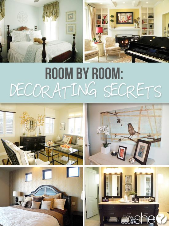 DIY Decor :: An Interior Designer goes through every room in the house sharing amazing decorating secrets to get that designer-look on a budget in your own home