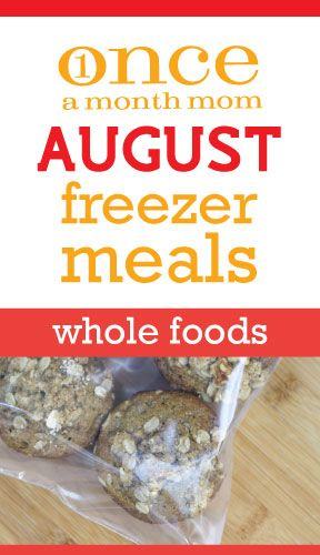 Think I might actually try to do this one when I get home -August freezer meals