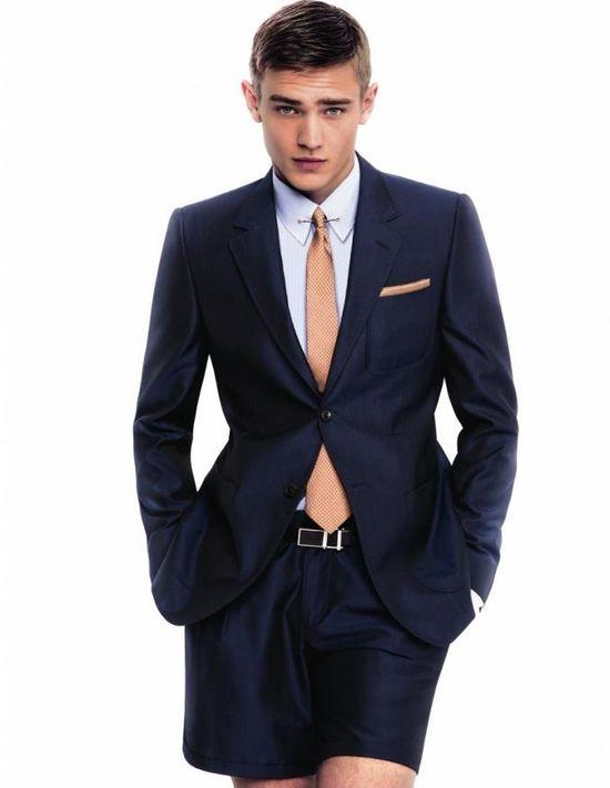 men's fashion & style - Emporio Armani Spring Summer 2013 Lookbook