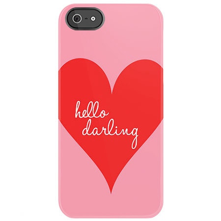 Hello Darling iPhone Case