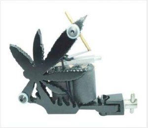 Weed Leaf Pot Chronic Handmade Tattoo Machine E010458 by cool2day. $18.99