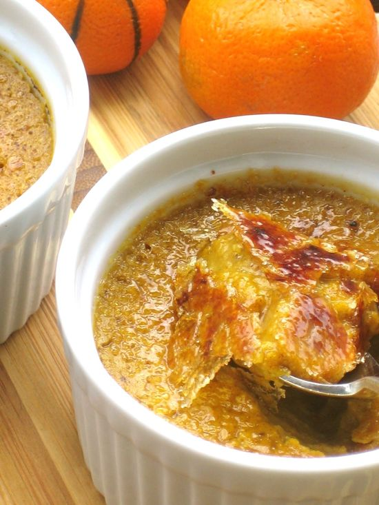 Pumpkin Pie Custard by plantpoweredkitchen: These custards are magical—creamy, luscious, and like having a mini pumpkin pie (without the crust!) all to yourself. Love the brûlée topping. #Custard #Pumpkin_Pie #Brûlée