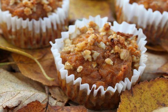 Apple Pie-Pumpkin muffins