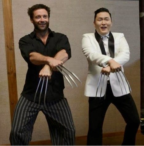 Wolverine Gangnam Style - Pictures Mania