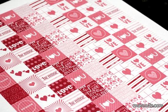 Hershey Kisses free printables