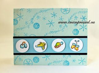 Pin to win! I'm Impressed Paper Arts: Homemade for the Holidays Event Day 51