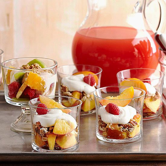 Fruit-Granola Parfaits