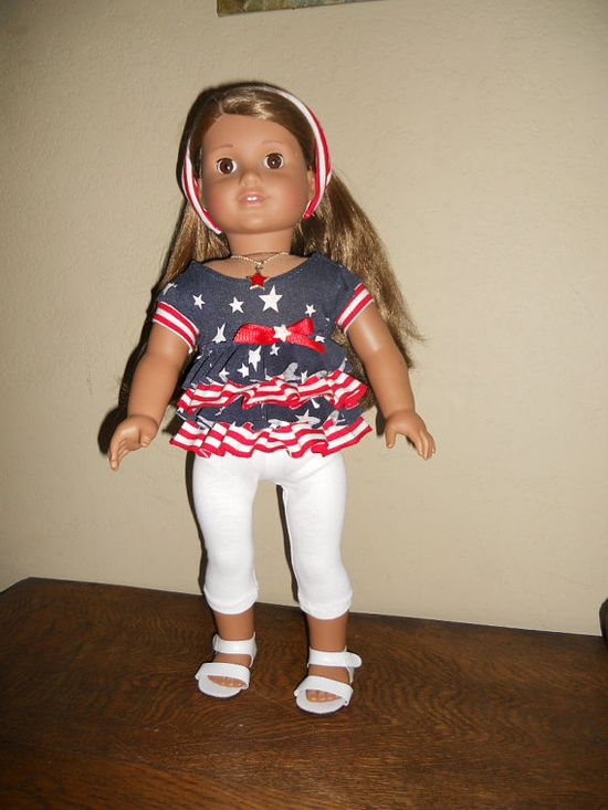 18 Inch Doll Clothes American Girl Proud To Be An by TCsTreasures,