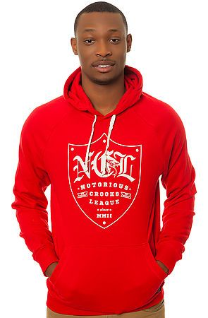 Crooks & Castles- The NCL Pullover Hoody
