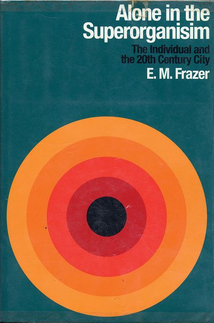 Alone in the Superorganisim #book #bookcover #retro #target #circle