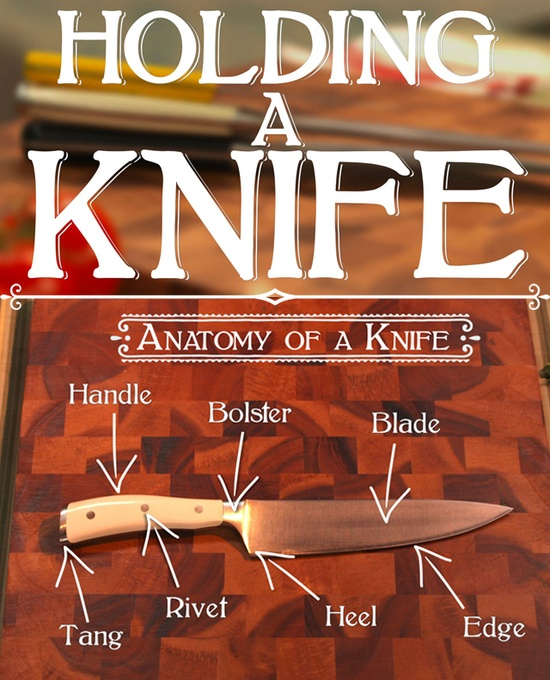 Your guide to holding a knife. #cooking #cooking101 #video #food