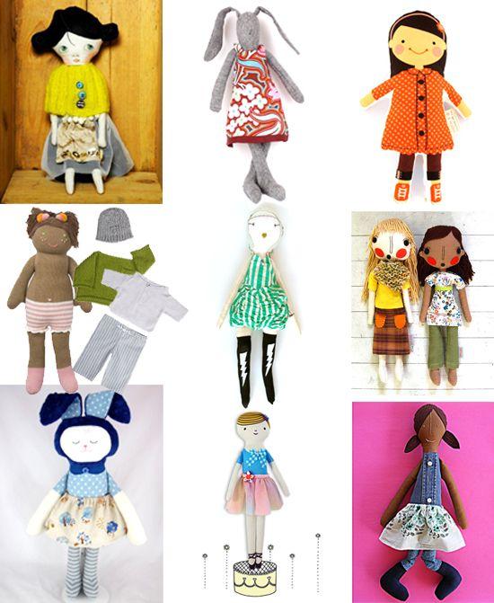 my favorite handmade dolls this season!