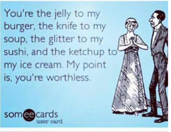 haha kina funny..