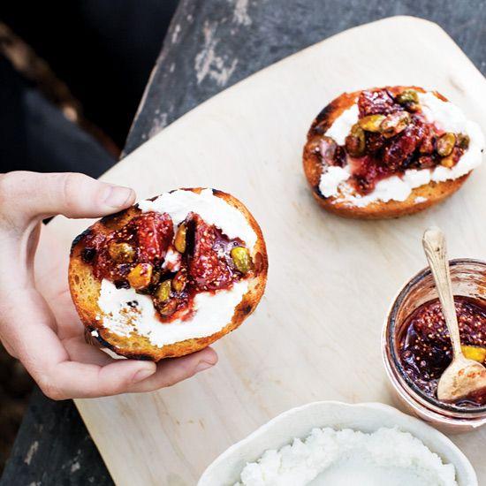 Fig, Orange & Pistachio Conserve // More Great Jam Recipes: www.foodandwine.c... #foodandwine