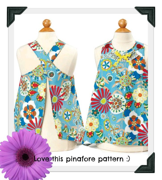 Love this pinafore pattern :)