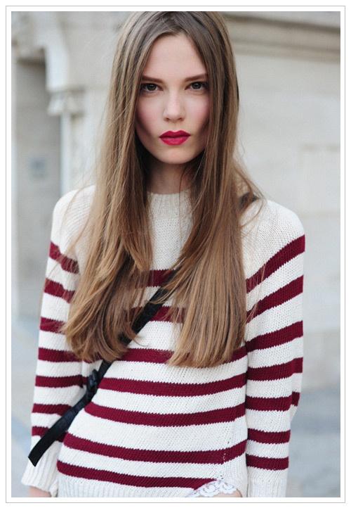 gorgeous in stripes!
