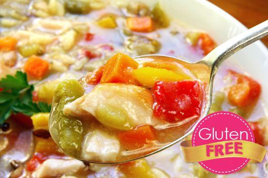 gluten-free chicken soup recipe