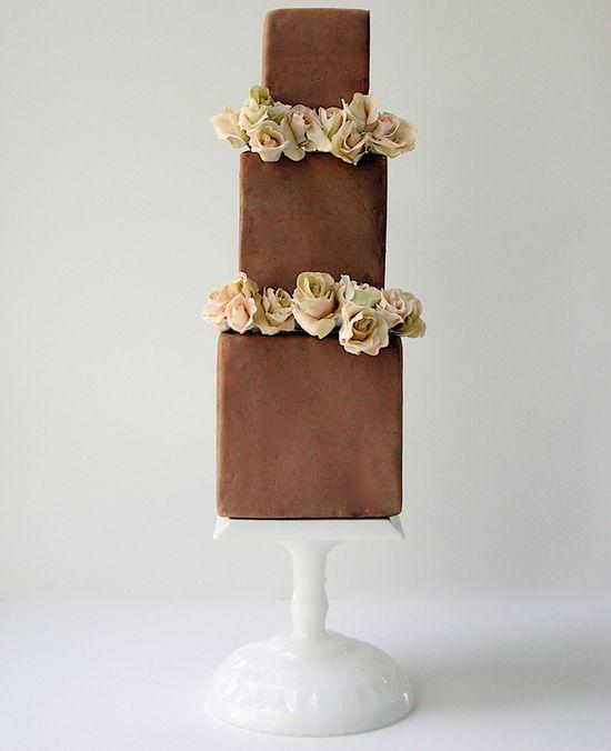 Chocolate Wedding Cake!