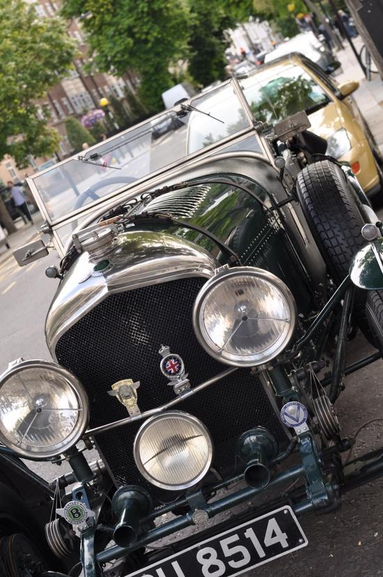 British classic car- Notting Hill