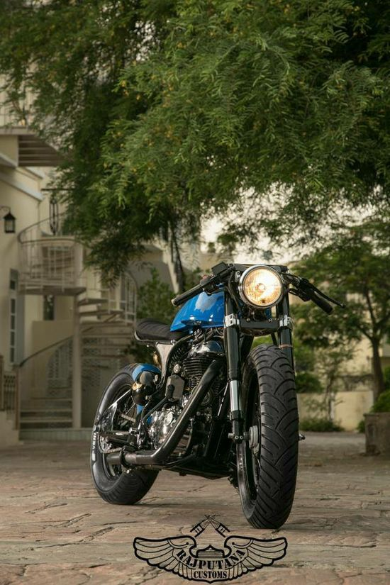 Cafe Racer by Rajputana Customs