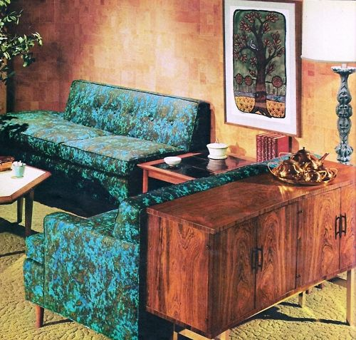 1967 living room design