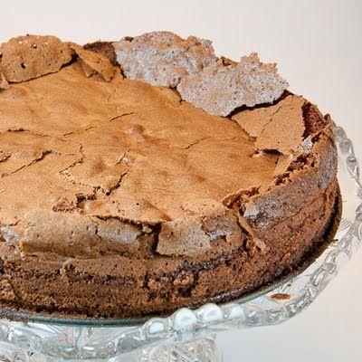 Chocolate Cake, flourless just sub sugar